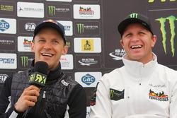 Press Conference: Mattias Ekström, EKS RX; Petter Solberg, Petter Solberg World RX Team