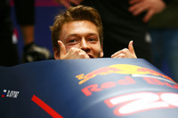 Formula 1 Photos - Daniil Kvyat, Red Bull Racing takes part in a bobsled practice session