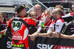 Third place superpole Davide Giugliano, Ducati Team