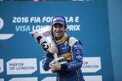 Podium: Race winner Nicolas Prost, Renault e.Dams