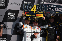 Winner main race cat Silver Markus Pommer, Nicolaj Möller Madsen, Audi R8 LMS, Phoenix Racing