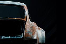 Vintage Porsche chassis