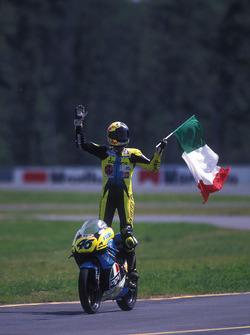Race winner: Valentino Rossi