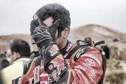 Nasser Al-Attiyah, Toyota Gazoo Racing after the crash