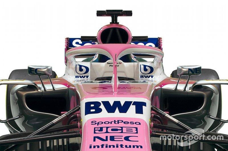 Une voiture rose pour Lance Stroll