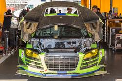 #45 Flying Lizard Motorsports Audi R8 LMS: Nic Jonsson, Pierre Kaffer, Christopher Haase, Tracy Krohn