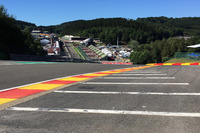 Formula 1 Photos - Eau Rouge track detail