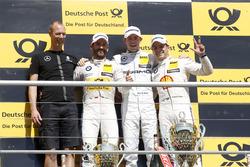 Podium: Winner Paul Di Resta, Mercedes-AMG Team HWA, Mercedes-AMG C63 DTM, second place Timo Glock, BMW Team RMG, BMW M4 DTM; third place Augusto Farfus, BMW Team MTEK, BMW M4 DTM
