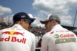 Mattias Ekström, Audi Sport Team Abt Sportsline, Audi A5 DTM and Edoardo Mortara, Audi Sport Team Abt Sportsline, Audi RS 5 DTM
