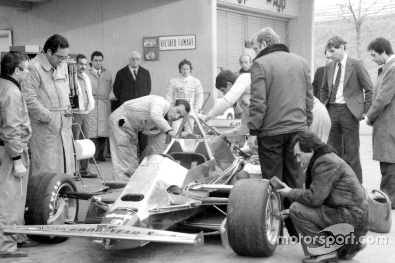 Der erste Test mit dem Ferrari 126C2