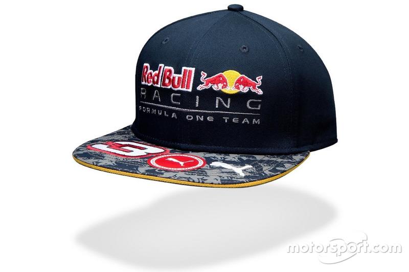 Casquette Red Bull à visière plate de Daniel Ricciardo