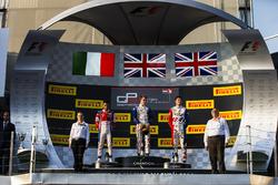 Matthew Parry, Koiranen GP, Antonio Fuoco, Trident and Jake Dennis, Arden International