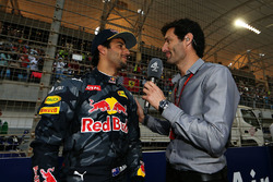 Daniel Ricciardo, Red Bull Racing and Mark Webber, Porsche Team WEC Driver - Channel 4 Presenter