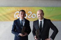 ERC Foto - Jarek Baran, Kajetan Kajetanowicz, premio fair play