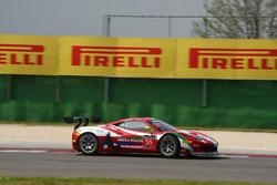 Claudio Sdanewitsch, Stephane Lemeret, Ferrari 458 Italia GT3, AF Corse