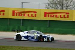 Mike Parisy, Christopher Haase, Audi R8 LMS, Sainteloc Racing