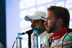 Nick Heidfeld, Mahindra Racing in the press conference