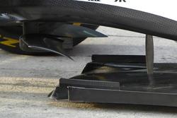 Ferrari SF16-H, splitter detail