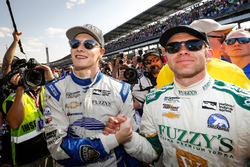 Josef Newgarden, Ed Carpenter Racing Chevrolet with Ed Carpenter