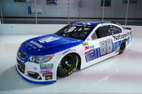 NASCAR Sprint Cup Photos - Dale Earnhardt Jr., Hendrick Motorsports Chevrolet new Nationwide livery