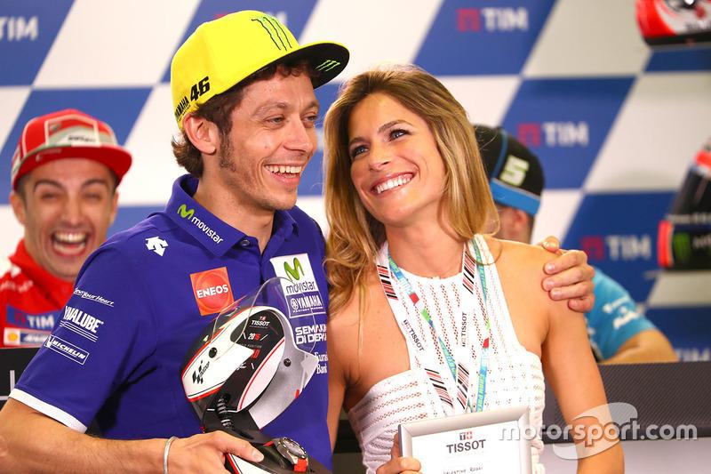 Valentino Rossi, Yamaha Factory Racing, Eleonora Pedron ...