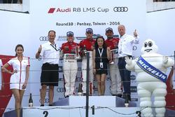 Round 10 podium