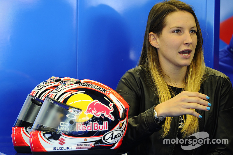 Kiara Fontanesi, Maverick Vinales s girlfriend at Italian GP