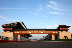 Korea International Circuit starting grid overview