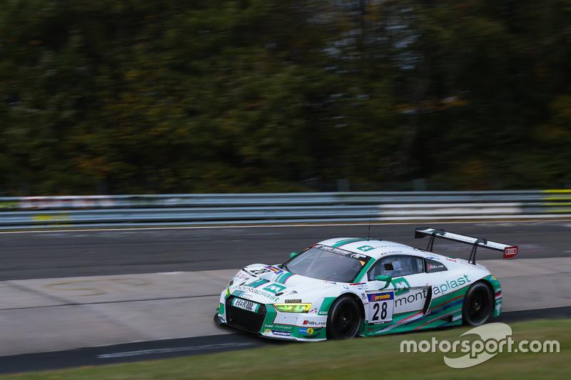 VLN 10: #28 Land Motorsport, Audi R8 LMS