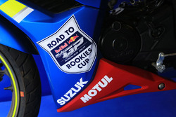 Suzuki Red Bull Road to Rookies Cup bike detail