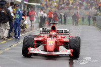More rain for Australian GP warm-up