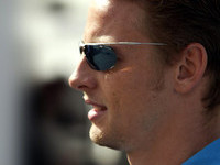 Button not worried about future