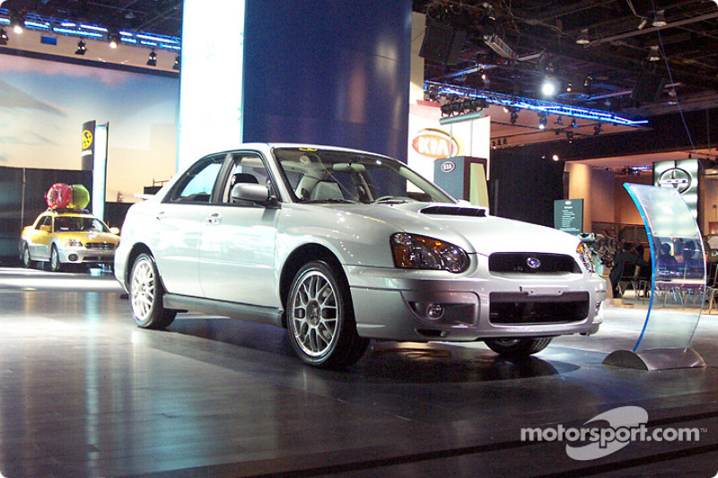Subaru brings the Impreza WRX STi to North America