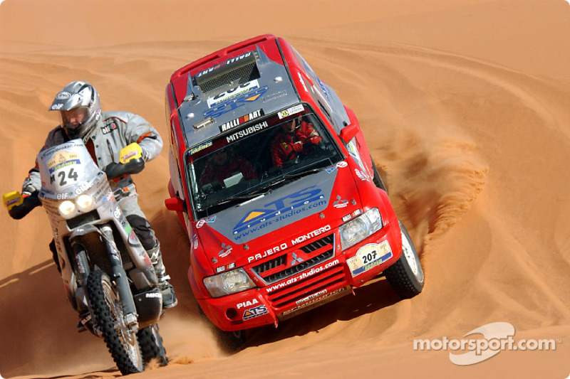 Dakar: Stage eight Ghat to Sabha notes