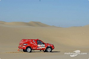 Dakar: Nissan stage ten report