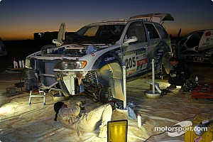 Dakar: BMW stage 11 report