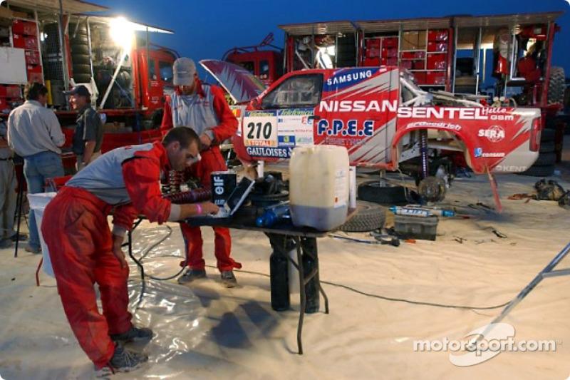 Dakar: Nissan rest day Siwa report