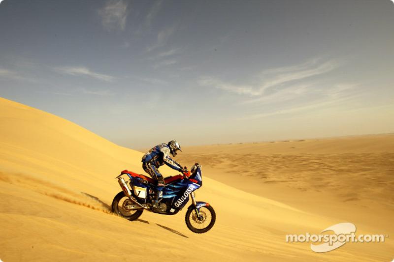 Dakar: Gauloises Racing stage 13 report