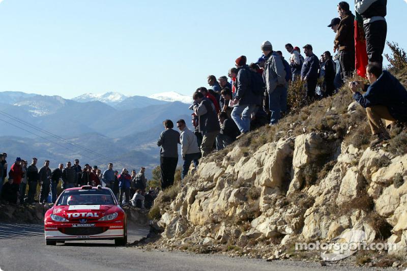 Monte Carlo: Peugeot leg two summary