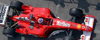 Formula 1 Barrichello praises Ferrari F2002