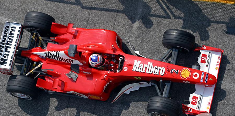 Barrichello praises Ferrari F2002