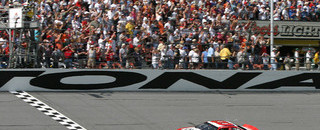 NASCAR Sprint Cup Earnhardt wins first 125 race