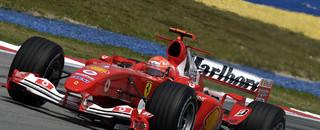 Formula 1 Schumacher on pole for Malaysian GP