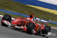 Schumacher on pole for Malaysian GP