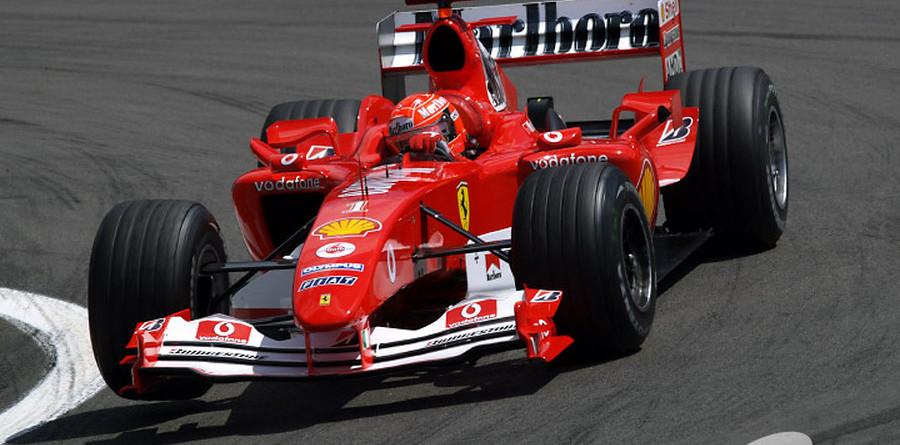 Schumacher flies to pole for European GP