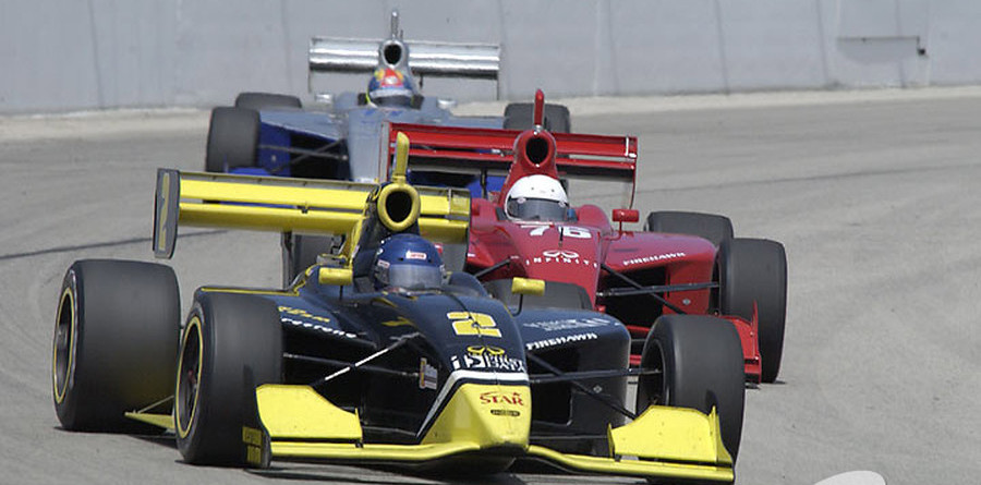 IPS: Unser steals the pole at Michigan