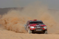 Accidents, injuries on stage six in Dakar rally