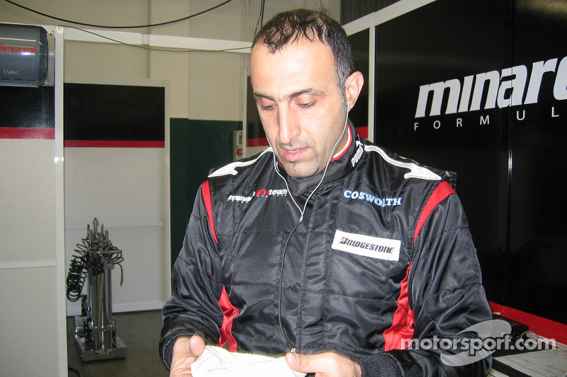 Minardi signs Nissany as test driver