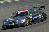 Paffett heads Mercedes trio for Lausitz pole