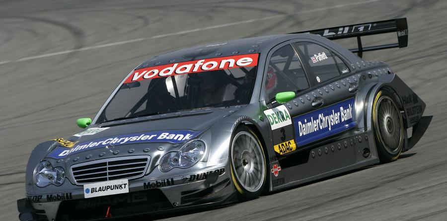 Paffett heads Mercedes trio for Lausitz pole
